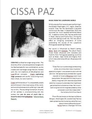 Cissa's OneSheet